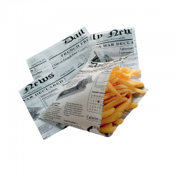 Cornet ingraissable french fries journal 130x130