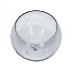 Verrine sphère transparent