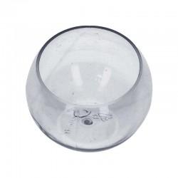 Verrine sphère transparent