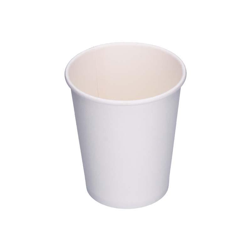 Gobelet en carton blanc