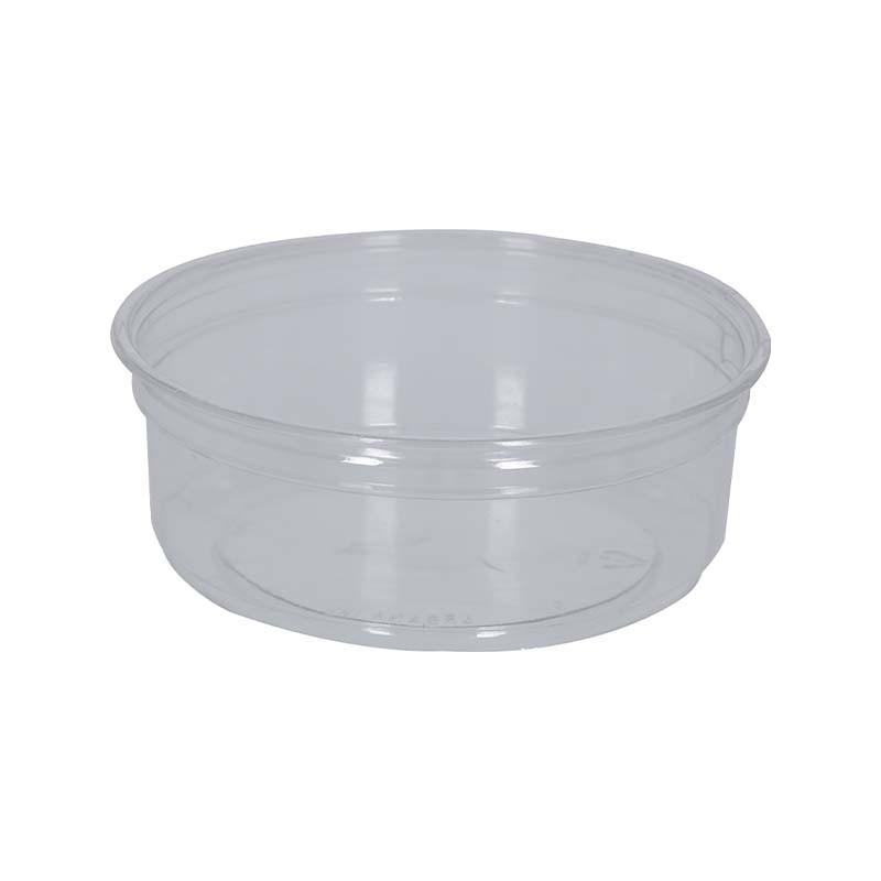 Pot plastique et couvercle