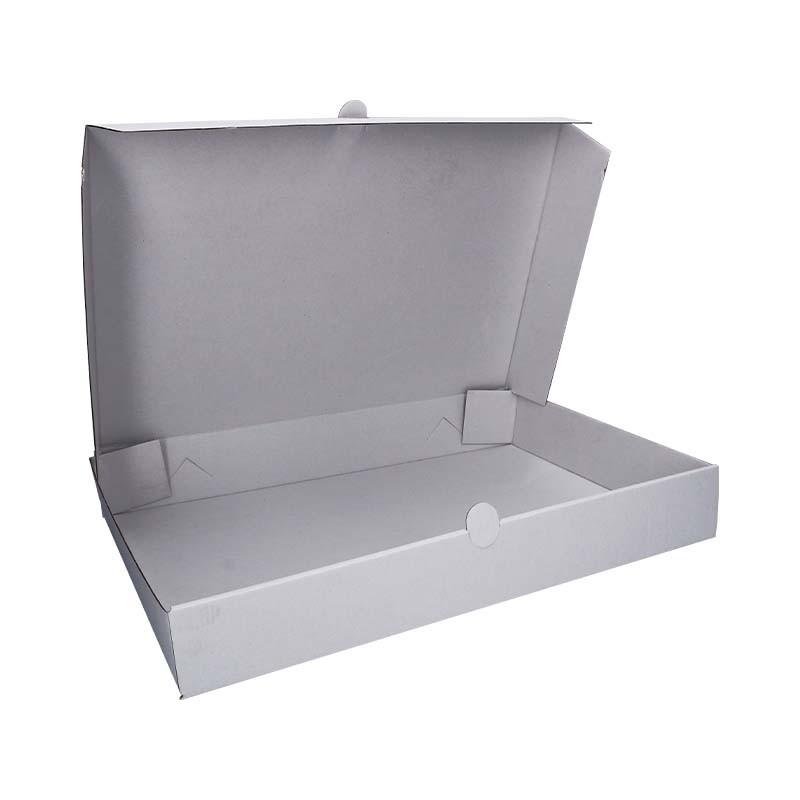 Boite en carton pour plateaux repas