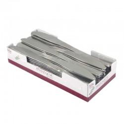 Couteau métallisé