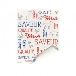 Papier alimentaire thermolim - Saveur terroir