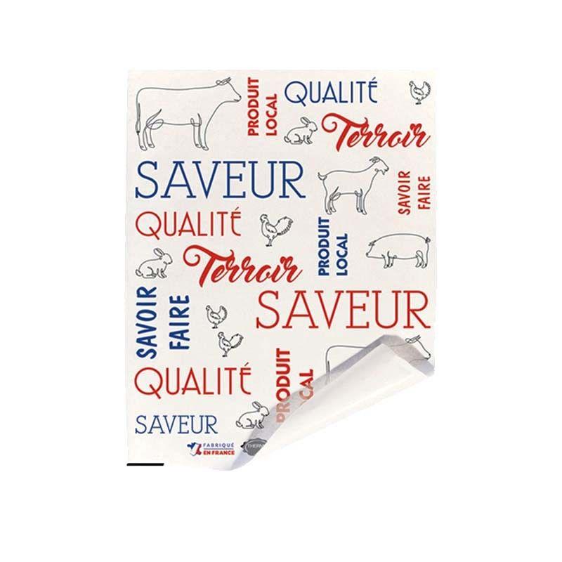 Papier alimentaire thermolim - Savoir terroir