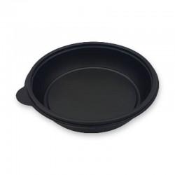 Bol rond plastique noir