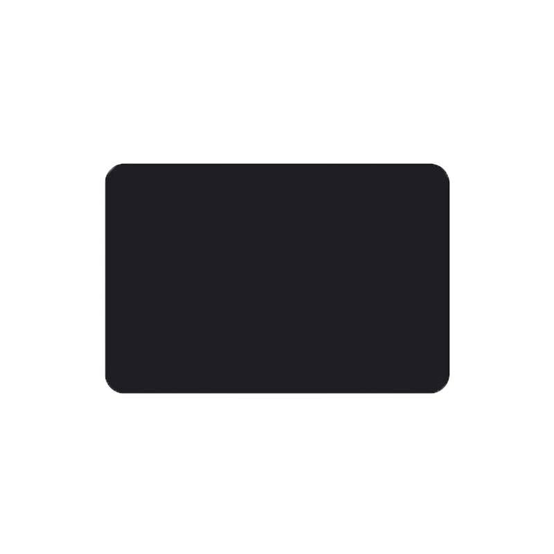 Etiquette simple noire ou blanche