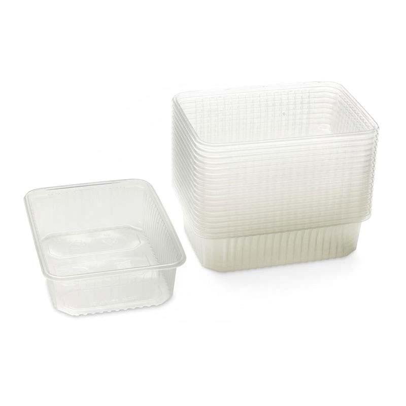 Barquette micro-ondable avec ou sans couvercle