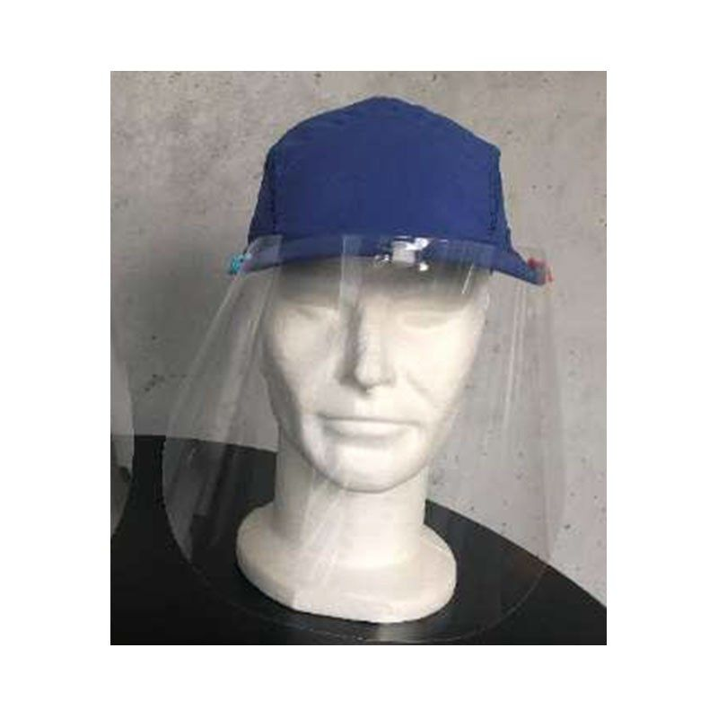 visière d'hygiène avec casquette