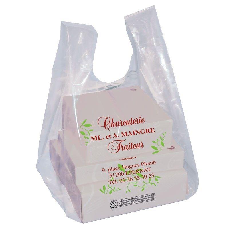 sac plastique transparent 50 microns pour traiteur