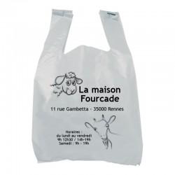 sac à bretelle personnalisable en polyéthylène