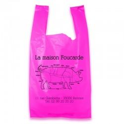 sacs bretelles rose fuschia personnalisables