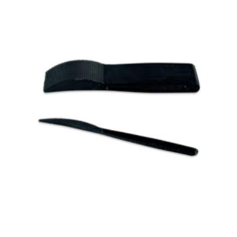Couteau plastique noir