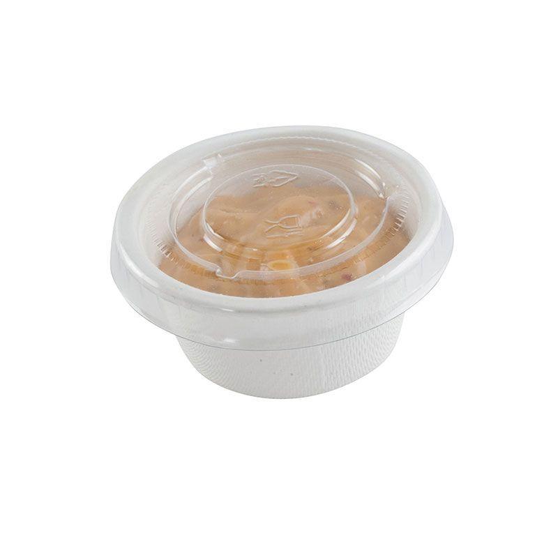 Pot à sauce en pulpe de canne