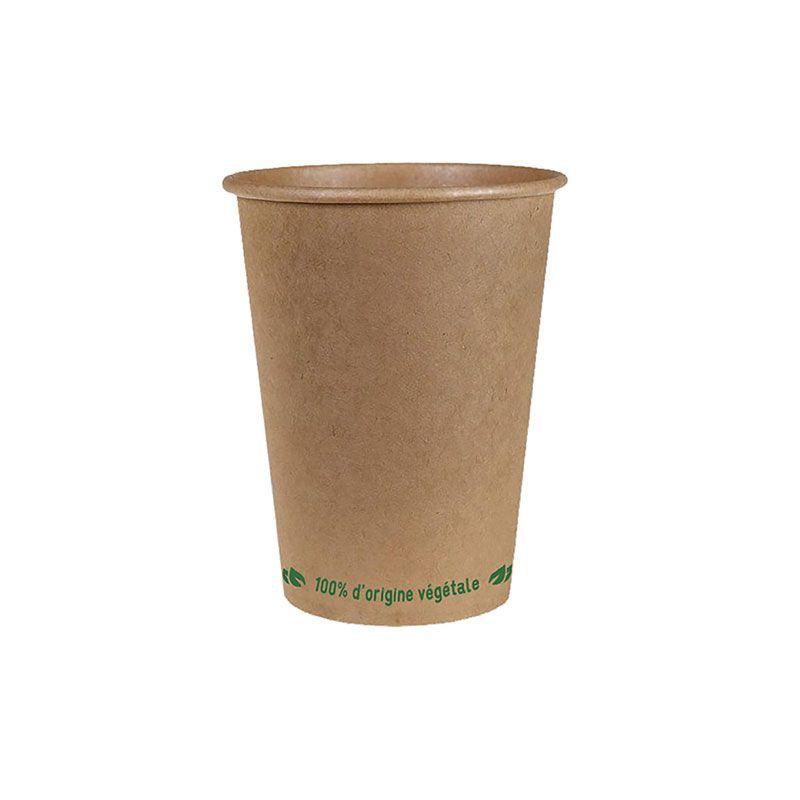 Gobelet kraft brun bio source