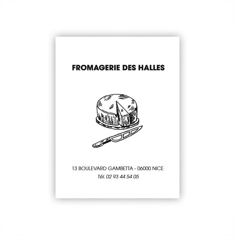 Feuille alimentaire thermosoudable - 32x40 cm - Personnalisable