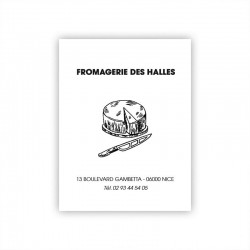 Feuille alimentaire thermosoudable - 25x32 cm - Personnalisable