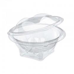 Barquette transparente ronde