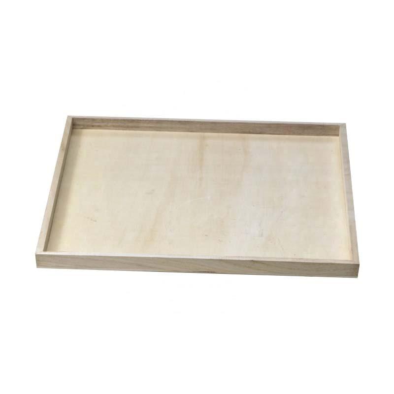 Plateaux bois carré