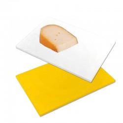 Planche à découper fromage jaune, blanche ou noire