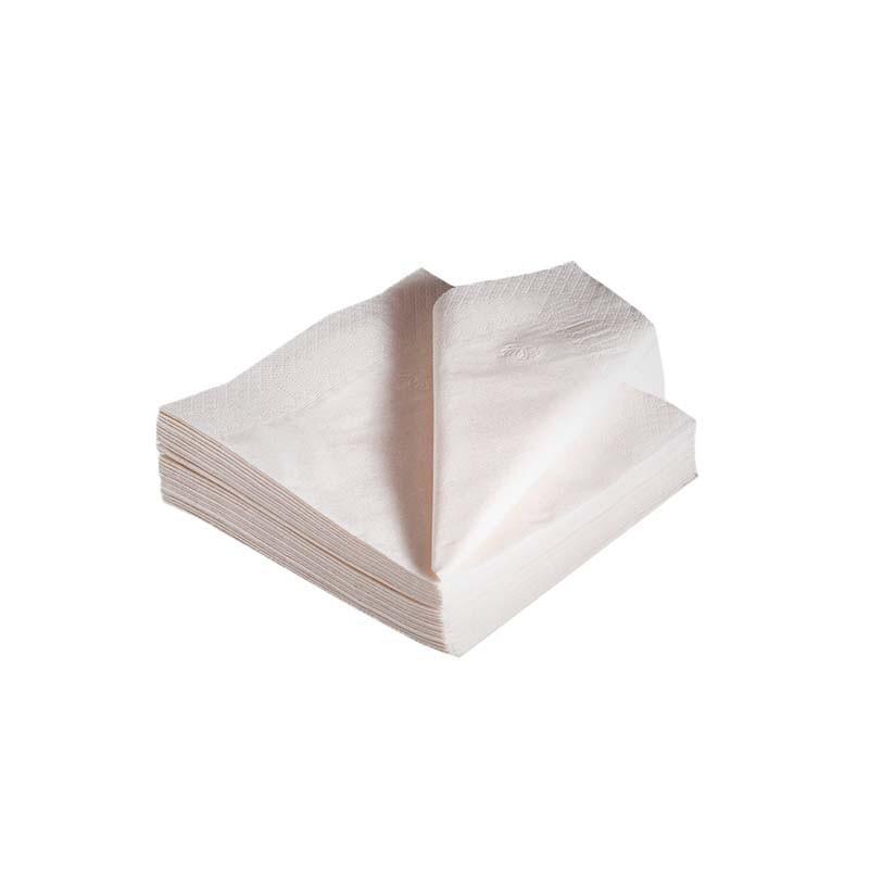 Serviettes 2 plis blanc