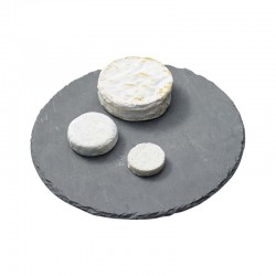 Plateau fromage ardoise rond