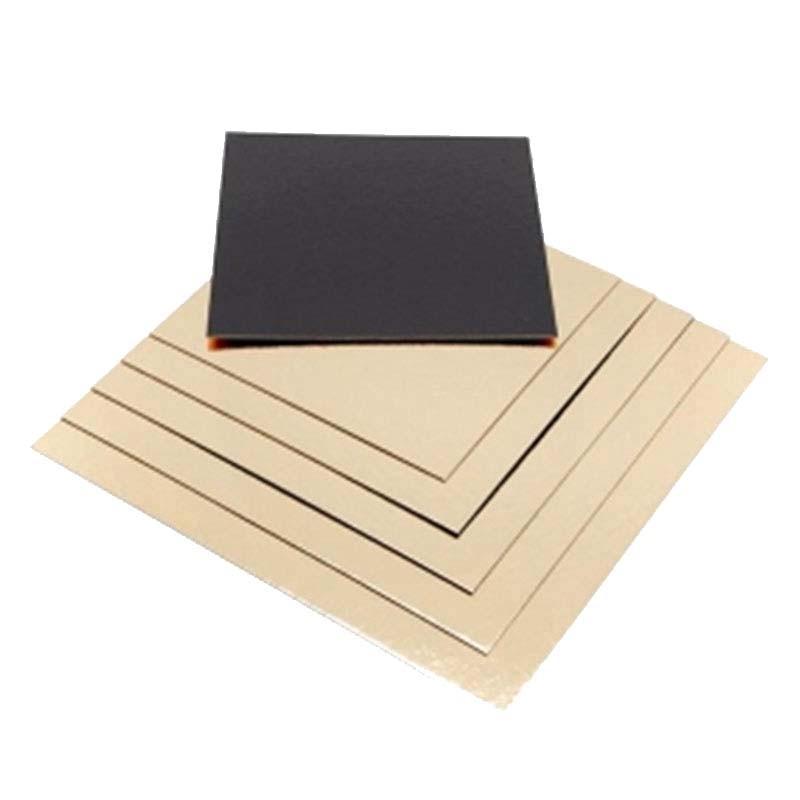 Carton contact alimentaire pour plateau bois carré