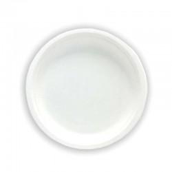 Assiette ronde fibre vegetal