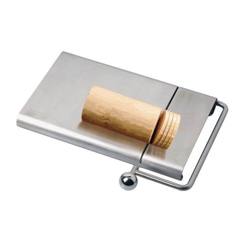 Coupe fromage professionnel en inox avec fil 27x22.5x3 cm