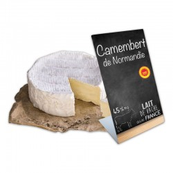 Etiquette chevalet pour fromager