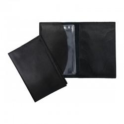 Porte carte grise cuir