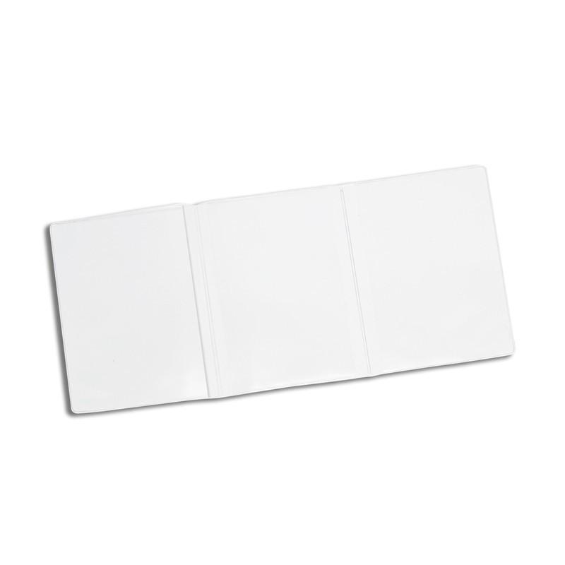 Porte carte grise pvc standard transparent