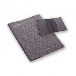 porte carte grise en caoutchouc grand format