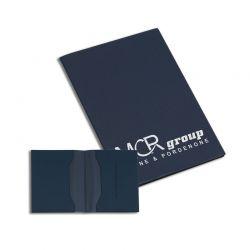 Porte carte grise thermosoudé pvc standard effet serge roma