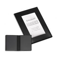 Porte carte grise thermosoudé pvc gomme classico