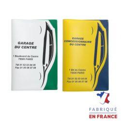 Porte carte grise pvc standard turbo