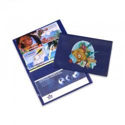 Portefeuille 2 volets ZANZIBAR PVC RECYCLABLE 30/100ème