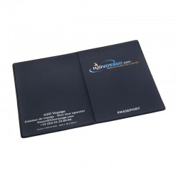 Couverture Passeport EUROPE PVC RECYCLABLE GOMME