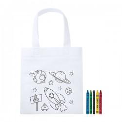 Mosby sac shopping à colorier