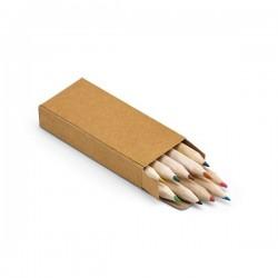 Crafti. Boîte avec 10 crayons de couleur