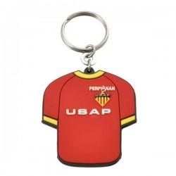 Porte-clés pvc souple 2d 2 faces - 40 mm