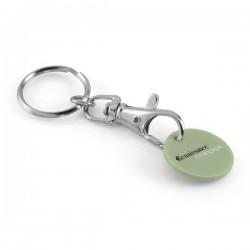 Porte-clés jeton classique avec jeton bio plastique
