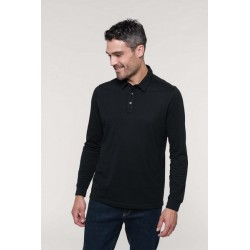 Polo jersey manches longues homme - Kariban