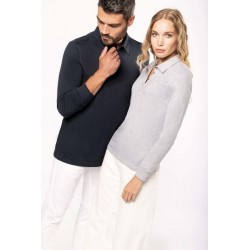 Polo jersey manches longues femme - Kariban