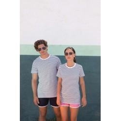 T-shirt Rayé unisexe - Skinni Fit