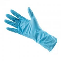 Gant de protection en nitrile bleu