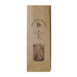 Sachet papier pharmacie kraft brun herbes aromatiques - personnalisable - 10+6x28 cm