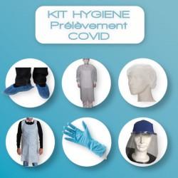 Kit hygiène pour prélèvement COVID en officine - Format STANDARD