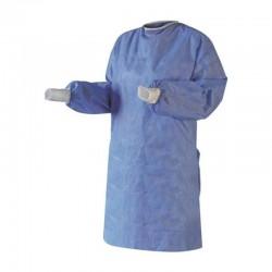 Blouse complète non tissé bleu - Taille unique