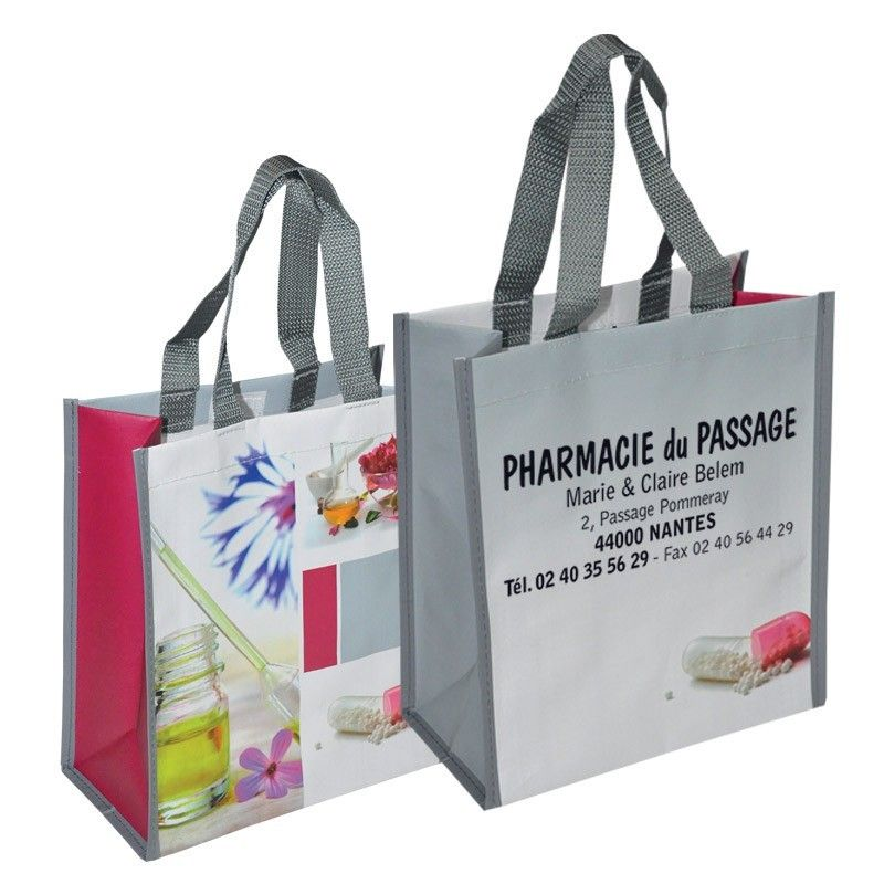 Sac tisse 24+13x27+sf polypro promedica phyto scratch fermeture anse